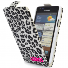 Galaxy S2 'Flip' Case in Leopard Print